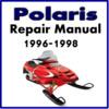 125844950 1996-1998 Polaris Snowmobile Service Repair Manual